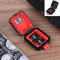 Memory Card Storage Carrying Case Holder Wallet Waterproof For CF/SD/SDHC/MS/DS
