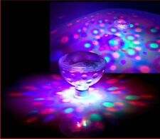 """New listing """"Disco Show"""" Underwater Led Spectacular Floating Light Lamp For Pond Pool Spa"""