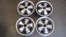 "PORSCHE  FUCHS Wheels 911/912/914-6 Original Wheels 1970 14"" x 5 1/2"" GERMAN SET"