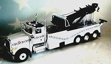 FIRST GEAR PETERBILT 367 ROTATOR WRECKER T800 WHITE CHAINS 1/50 DIECAST 50-3344