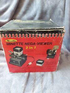Minette Nega- Viewer/ Slide viewer. Rare vintage item