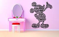 Wall Room Decor Art Vinyl Sticker Mural Decal Cartoon Mouse Kids Bedroom AS1720