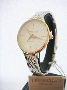 New TRUSSARDI Watch Ladies T Sun Rose Gold Stainless Steel R2453126503