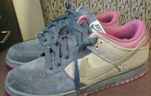 Nike Dunk Low CL (2008) - Men's Size 12 - (318020-401) Grey, Light Grey & Purple