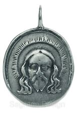VERONICA'S VEIL / MADONNA AND CHILD Medal, silver, from antique Italian original