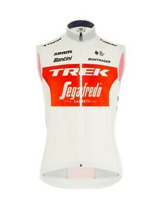 2020 Trek Segafredo Team CYCLING Vest - Made in Italy by Santini Size Medium