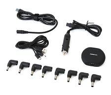 Omega Universal Mini Dc Adapter Notebook Car Usb 90w Mini 2-In-1