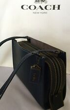 3f3cb47395 Coach 1941 Rogue Shoulder Bag Midnight Navy Pebble Leather 28484