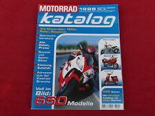 Der Original MOTORRAD-KATALOG Ausgabe 1998  Motorradkatalog