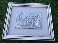L. Moroni  Carved On .925 Sterling Silver Art