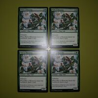Wall of Blossoms x4 Modern Horizons 4x Playset Magic the Gathering MTG