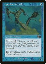 Magic MTG Tradingcard Urza's Saga 1998 Sandbar Merfolk 94/350