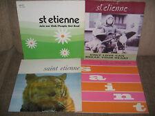 Saint Etienne - Only Love Can Break Your Heart LP + 3 MAXI SINGLES LP's A LOT!!!