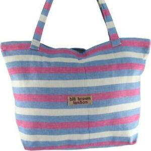 Bill Brown Bags - Lucy Handloom - Zipped Bag - Various Colours - 49x32x16cms