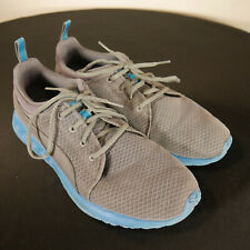 Puma Carson Runner Mesh Grey/Blue Men's Kid's Size US 9 UK 8 189024-01 Footwear