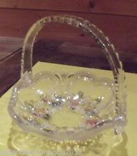 ancien Panier Mariage décoration art de la table floral résine