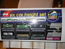 MTH PREMIER 20-90014 BURLINGTON NORTHERN FREIGHT SET NIB RATED C9 FACTORY NEW