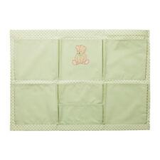 IKEA NANIG wall pockets,  9 individual pockets, green color. Baby room.