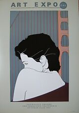 PATRICK NAGEL: San.Francisco  ART EXPO, 1981 FROM THE OFFICIAL ESTATE, SIS