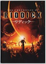 The Chronicles of Riddick Japan Program w/Flyer David Twohy, Vin Diesel, C.Feore