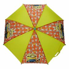 Official Children's Despicable Me Minions Characters Yellow Stick Umbrella