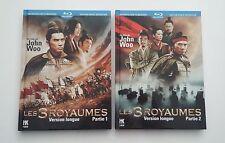 Blu-ray : LES 3 ROYAUMES - Version Longue Partie 1 & 2 - John Woo