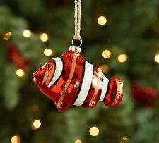 NIP Pottery Barn Christmas MERCURY GLASS CLOWN FISH Ornament