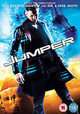 JUMPER DVD As New & Sealed Diane Lane, Michael Rooker, Samuel L. Jackson, Jamie