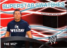 WWE The Miz Topps 2011 Superstar Swatches Event Used Shirt Relic Card FD