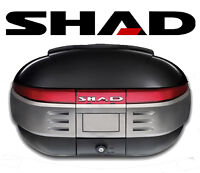 Top Case SHAD SH50 porte bagage valise coffre Topcase 50 litres NEUF SH 50L New