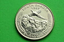 2006-P BU Mint State(SOUTH DAKOTA) Statehood  US Quarter