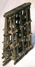 TIMBER FRAMED BRIDGE PIER O Scale Model Railroad Structure Wood Kit HL107O