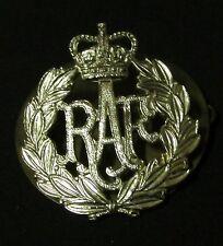 "ROYAL AIR FORCE ""HAT PIN"" JR GAUNT, ""RAF"" SILVER COLOR W/BOBBI PIN BACK, NICE!"
