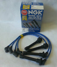 ACURA INTEGRA B18 NGK MADE IN JAPAN BLUE OEM SPARK PLUG WIRE SET HE82