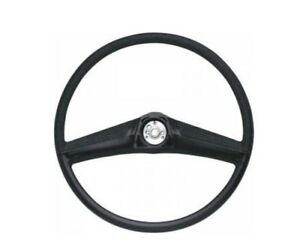 Counterpart Auto 69-3625-BK Black Steering Wheel 69-72 GMC Chevy NEW SHIPS FREE