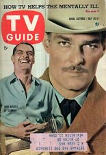 1959 TV Guide July 25 - John Russell of Lawman; Brenner; Bennye Gattys; Donovan