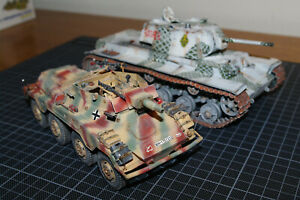 I build 1/8 1/16 1/35 1/32 1/48 1/72 ... model kits pro well built painted