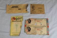 4 leere Blisterkarten / Verkaufskarten  für Lockenwickler / Haarschmuck (3)/S226