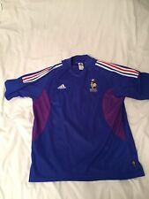 Maillot Equipe de FRANCE FFF Adidas Coupe Du Monde 2002 Taille L comme Neuf 40d5bb4e1556