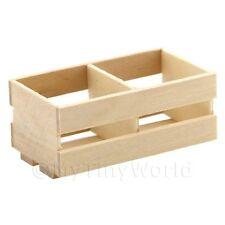 Puppenhaus Miniatur große Holz partitioniert Latten Kiste
