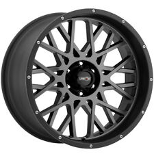 "4-Vision 412 Rocker 18x9 6x135 +12mm Gunmetal/Black Wheels Rims 18"" Inch"