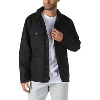 Vans Drill Chore Coat WN1 Lined Jacket Black VN0A3W2GBLK New W/Tags Men's S