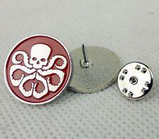 1PC Agents of S.H.I.E.L.D. Hail Hydra Badge Pin Skull Hat Lapel Pin