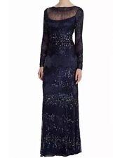 BNWT COSTA 🌹 🌹 Taglia 8 Davina Maxi Con Perline & Paillettes Impreziosito guaina vestito £ 395