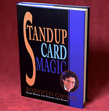 Stand up Card Magic by Roberto Giobbi from Murphy Magic - Book