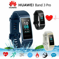 HUAWEI Band 3 Pro Smart Bracelet BT GPS NFC AMOLED Heart Rate Sleep Monitor