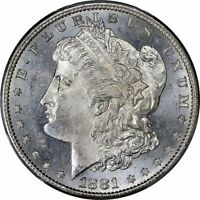1881-S Morgan Silver Dollar Brilliant Uncirculated - BU