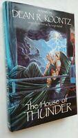 DEAN R KOONTZ THE HOUSE OF THUNDER 1ST/1 H/B D/J 1988 ILLS PHIL PARKS V/RARE !