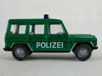 """Wiking 10600 Mercedes-Benz 230 GE (1982-1992) """"POLIZEI"""" 1:87/H0 guter Zustand"""