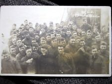 Super Rare Postcard of the Men Aboard the U.S.S. Powhatan, WWI!